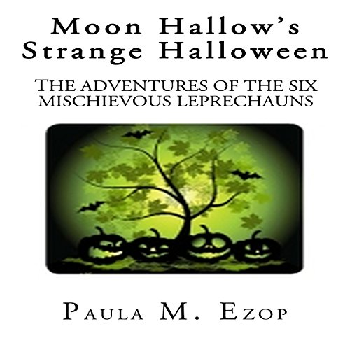 Moon Hallow's Strange Halloween audiobook cover art