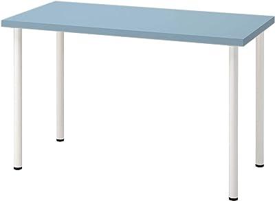 """LAGKAPTEN/ADILS Desk, Light blue/white47 1/4x23 5/8"""""""