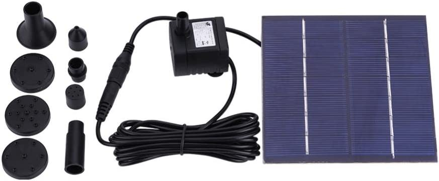 GLOGLOW 1.2W Solar Weekly Popular brand in the world update Fountain Water Pump Submersible Floating