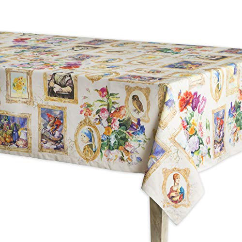 Maison d' Hermine Masterpiece 100% Cotton Tablecloth 60 Inch by 60 Inch