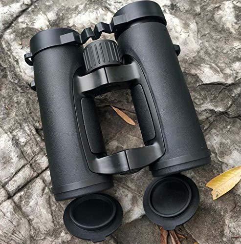 ZTYD 10x32 Jumelles Portable avec Clear Vision Faible lumière, Grip Creux Design FMC Multi Coated Jumelles pour Admiration des Oiseaux de Chasse Traveling