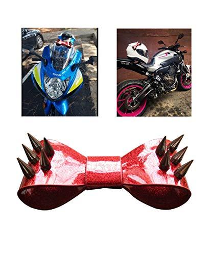 3T-SISTER Helm Boog Handgemaakte Motorhelm Bow Knot, voor Bike Helm Motocross Helm Full Face Biker Helm, Herbruikbaar Ontwerp