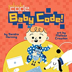 Baby coding book by girls who code