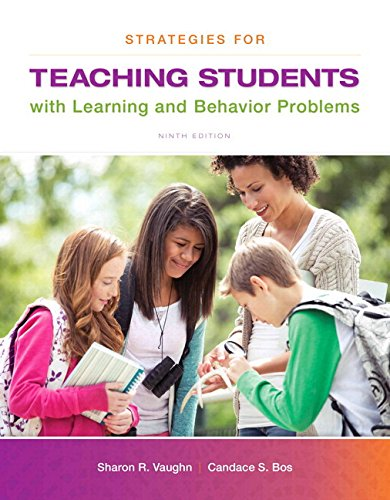 Strategies for Teaching Students with Learning and Behavior Problems, Enhanced Pearson eText --Standalone Access Card (9