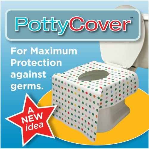 PottyCover, Disposable Toilet seat Covers. (6 Pack)