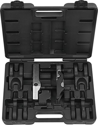 KS Tools 4500970 Universal Kugelgelenk Ausdrücker Satz mit auswechselbaren Gabeln, Durchmesser 20/22/24/27/30 mm
