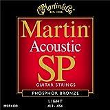 Martin アコースティックギター弦 SP ACOUSTIC(92/8 Phospher Bronze) MSP-4100 Light .012-.054