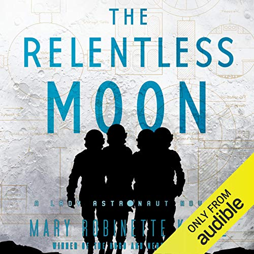 The Relentless Moon audiobook cover art