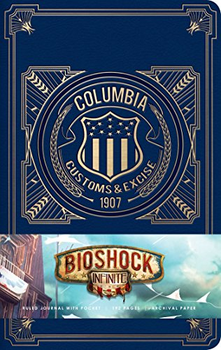 Bioshock Infinite Hardcover Ruled Journal (Journals)