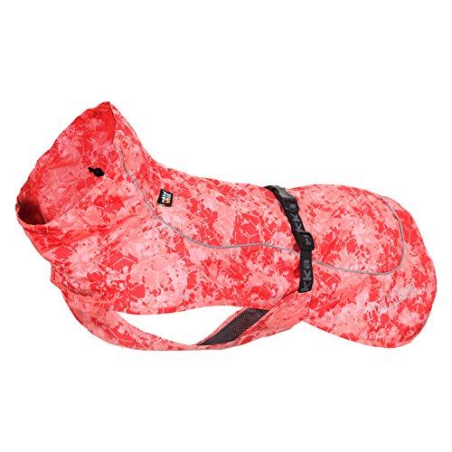 Rukka Hundemantel, Korallenrot, Größe L
