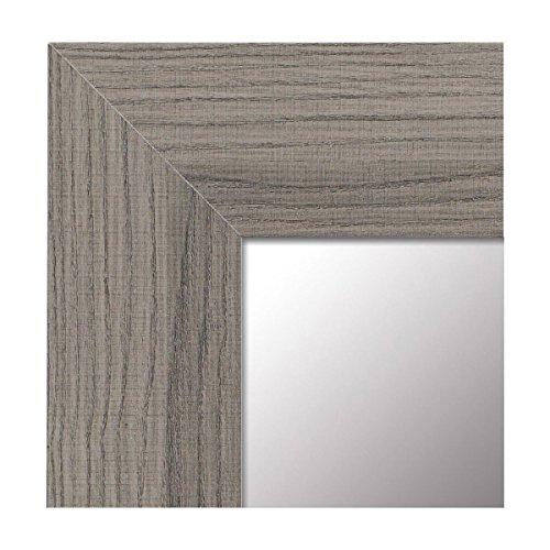 -Espejo Fabricado en España- tamaño 64x164 cm. Espejo Decorativo de Pared Modelo 189 Gris, Ideal para salón, baño, Dormitorio, vestidor o entradita