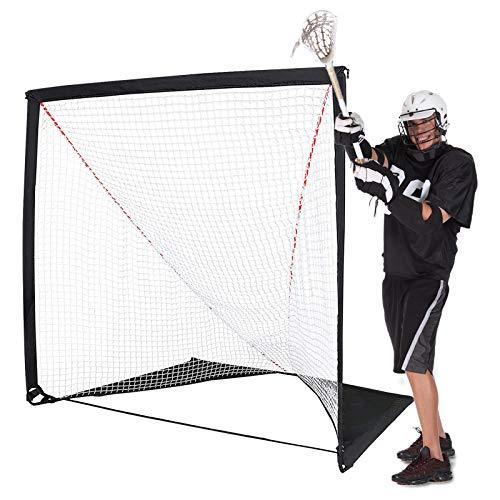 Zdmathe Sports Backyard Lacrosse Goal - Kids Lacrosse Training Lacrosse Net - Lacrosse Training Equipment - Perfect for Youth Training & Recreation