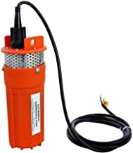 ECO-WORTHY Submersible Well Water 12V DC Pump 10FT 96GPH Suitable for Energy Solar Battery/Pond Spring Well Aquarium Fountain