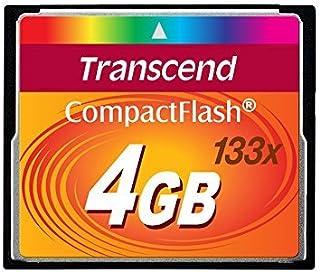 Transcend - Flash memory card - 4 GB - 133x - CompactFlash