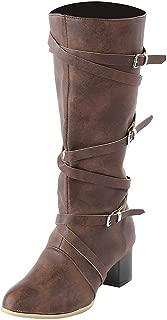 Melady Women Classic Mid Boots Mid Heels Zipper