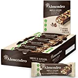 El Almendro - Barritas de Almendra y Chocolate 70% - 10 unidades. Sin Gluten, Sin Aceite de Palma, Alto Contenido en Fibra