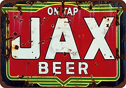 3205 Cerveza en grifo, letreros de lata retro, decoración de pared, para bares, restaurantes, cafeterías, pubs, garaje de 8 x 12 pulgadas