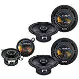 Best Harmony Audio Car Speakers - Harmony Audio Compatible with 2002-07 Jeep Liberty (2) Review
