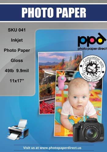 PPD PPD-41, Papel fotográfico con brillo, A3, 100 Hojas