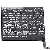vhbw batteria compatibile con wiko upulse, upulse lite, view prime smartphone cellulare (2900mah, 3,85v, li-poly)