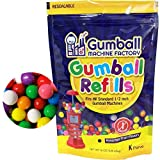 Gumballs Refill for Gumball Machines - Assorted Fruit Flavored Bubble Gum 1 pound