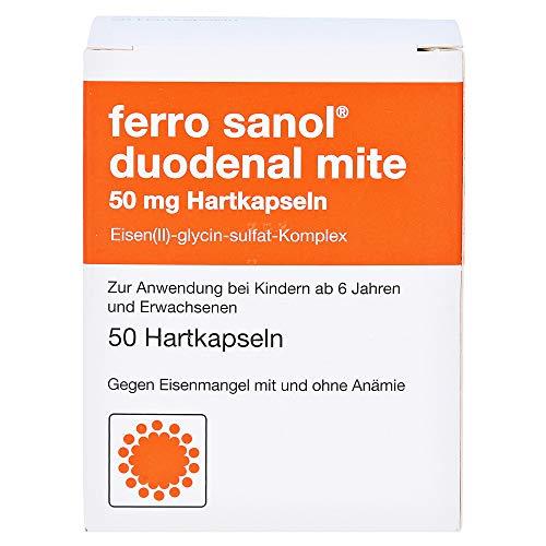 ferro sanol duodenal mite 50 mg, 50 St Hartkapseln