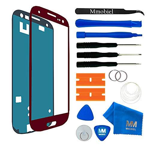 MMOBIEL Kit Reemplazo de Pantalla Táctil Compatible con Samsung Galaxy S3 i9300...