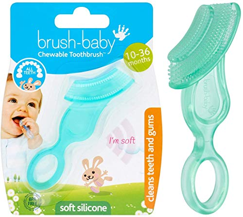 Brush-Baby Chewable Toothbrush and Teether