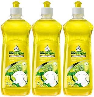 Dr. Neem Mint and Lemon Dish Wash Liquid- Pack of 3 (3 x 500ml)