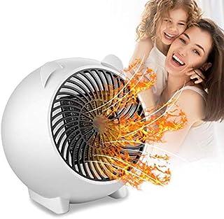 ZP-Heater Mini Calefactor, De Ventilador Termostato Silencioso, Calefactor de Aire Caliente, Calefactor bajo Consumo, Calentador de Espacio Eléctrico Portátil para Cuarto/Oficina