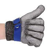 Schnittfeste Handschuhe Rostfreier Stahl Handschuh Level 5 zum Küche Metzgerei