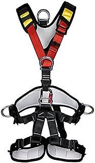 YaeTact アウトドア クライミング 登山降下 安全帯ベルト バストベルトに座っ登山ハーネス座席 高所作業保護 懸垂下降アウトドア 身に着けているシートベルト