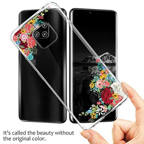 Handyhülle Kompatibel mit Huawei Mate 20 Pro Hülle,Huawei Mate 20 Case TPU Transparent Silikon Flexibel Ultra dünn Weicher Bumper Anti-Scratch Case für Mate 20 Lite Hülle (Huawei Mate 20, 6) - 3
