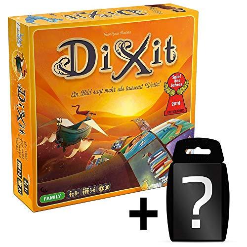 DIXIT - Grundspiel - Original   DEUTSCH   Set inkl. Kartenspiel   Spiel des Jahres 2010