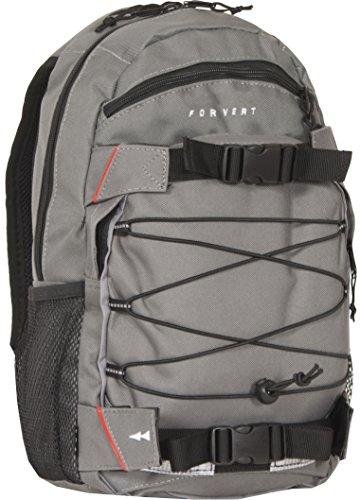 FORVERT Unisex Bag small Louis handlicher Daypack mit durchdachter Ausstattung und Boardcatcher, grau (Grey)
