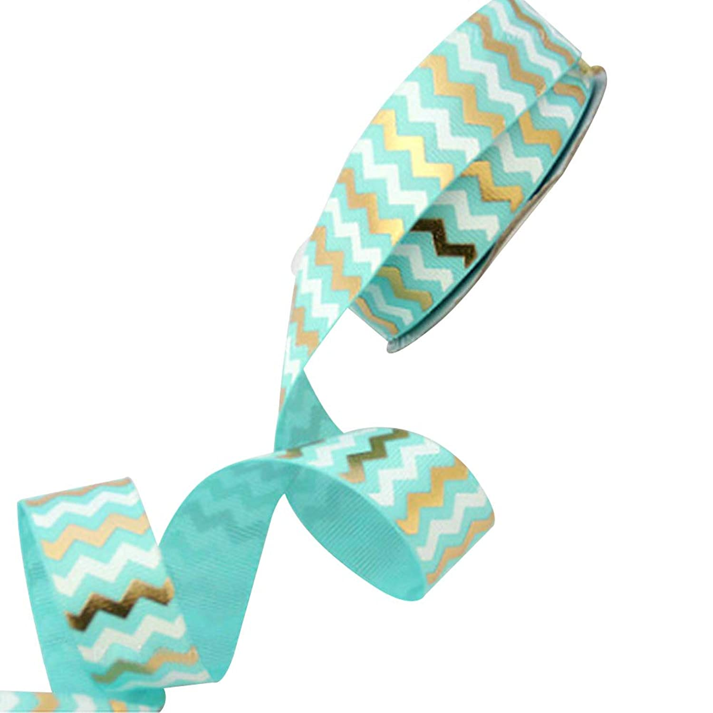 Gradient Color Satin Ribbon - Handmade Ribbon, Flower, Clothes, Gift Box, Birthday Christmas (10yard (2.2cmwide Blue)