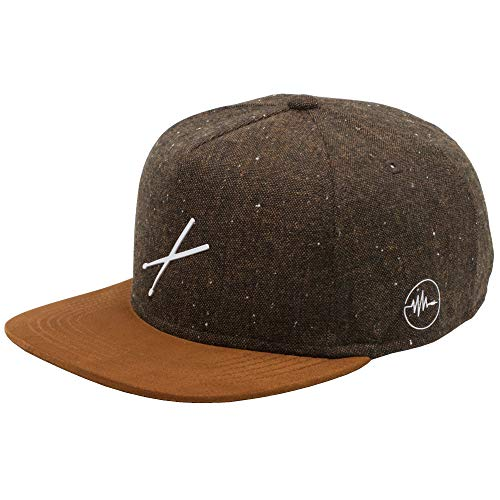 taktfest Brand Snapback Cap für Damen und Herren - Snapback Cap für Schlagzeuger - Baseball Mütze verstellbar stylisch und hochwertig als Accessoire für jedes Outfit