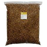 Camarones de Agua Dulce secados 2-4cm alimento Tortugas de Agua Koi algova® (10kg)