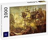 Lais Puzzle Joseph Mallord William Turner - La Batalla de Trafalgar 1000 Piezas