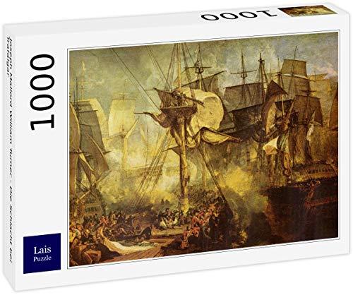 Puzzle Joseph Mallord William Turner   La Batalla de Trafalgar 1000 Piezas