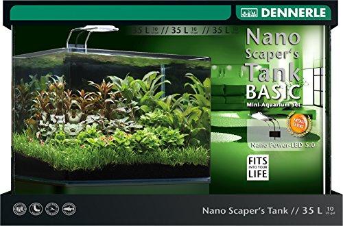 Dennerle Nano ScapersTank Komplett-Set 35 L mit LED Lampe