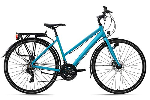 KS Cycling Trekkingrad Damen 28'' Antero blau Aluminiumrahmen RH 48 cm