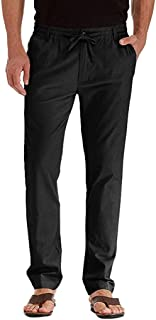 SPE969 Cargo Pants Men's Casual Long Pants Solid Color Straight Work Trousers