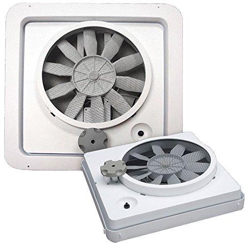 Heng s New Vortex I White Single Speed 12V 12 Volt RV Camper Motorhome Ceiling Vent Fan Replacement Upgrade KIT Model 90043-CR