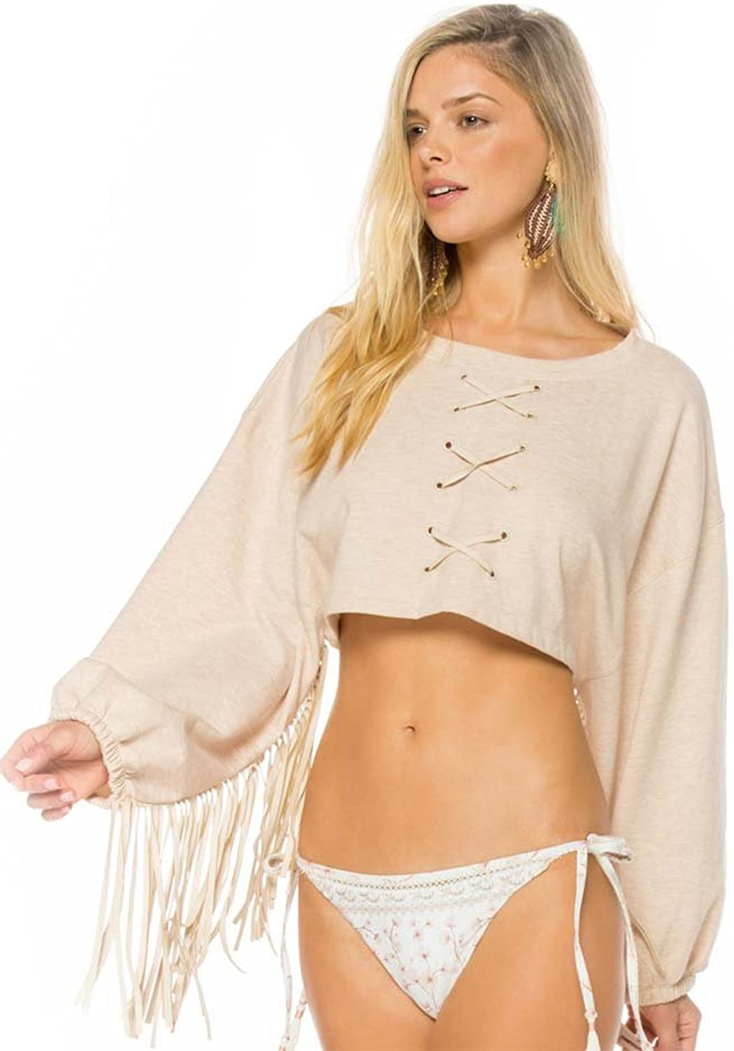 Agua Bendita Vanilla Chrissy Crop Top