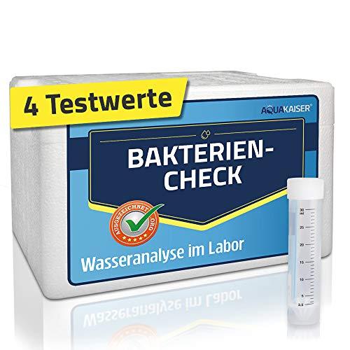 Bakterien Test für Wasser – inkl. Kühlbox und Laboranalyse – Wassertest für Trinkwasser auf Bakterien und Keime