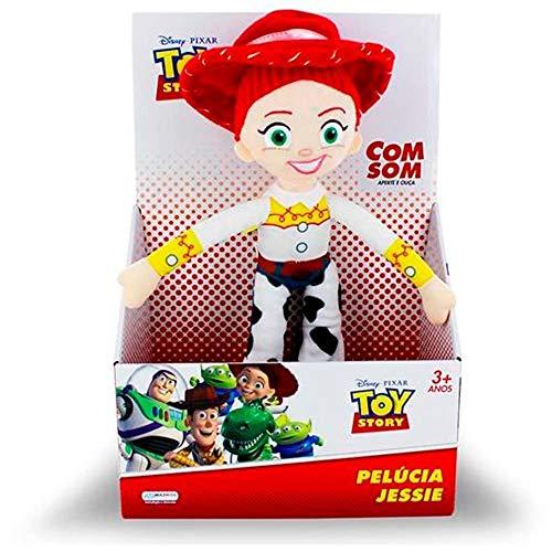 Pelúcia Toy Story Jessie Com Som 30 Cm - Multikids