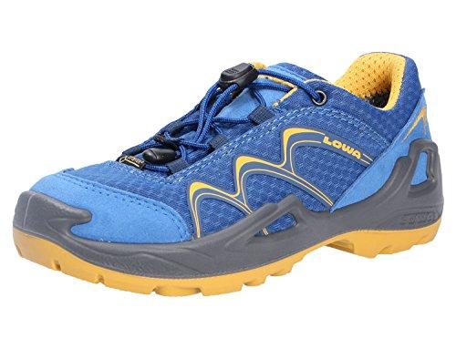 Chaussures Lowa Innox GTX LO Kids - Bleu/jaune - Argenté - bleu, 35 EU