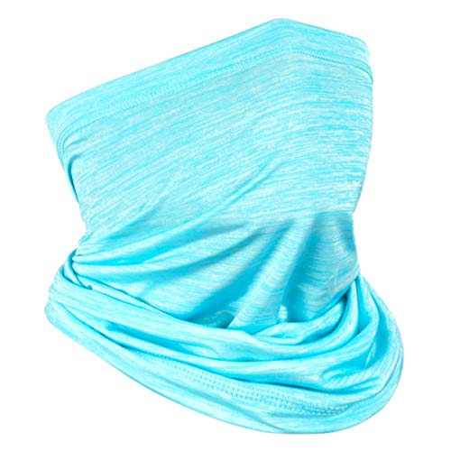 Achiou Neck Gaiter Face Mask Scarf Dust Sun Protection Cool Lightweight...