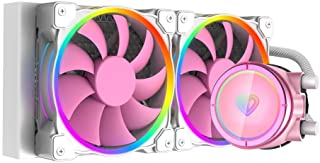 ID-COOLING PINKFLOW 240 CPU Water Cooler 5V Addressable RGB AIO Cooler 240mm CPU Liquid Cooler 2X120mm RGB Fan, Intel 115X...